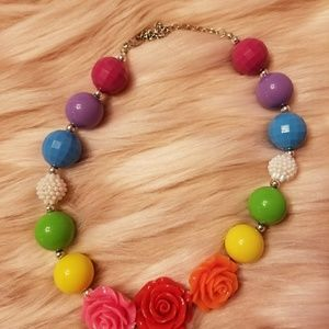 Other - Girls multi colored chunky bead necklace